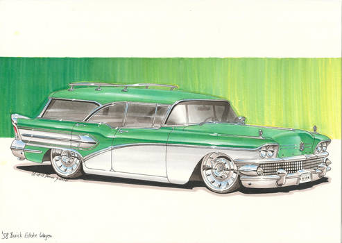 '58 Buick Estate Wagon