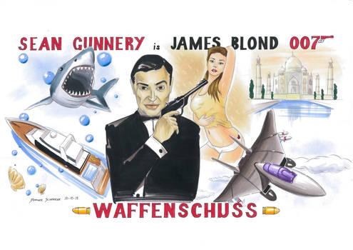 James Blond Waffenschuss