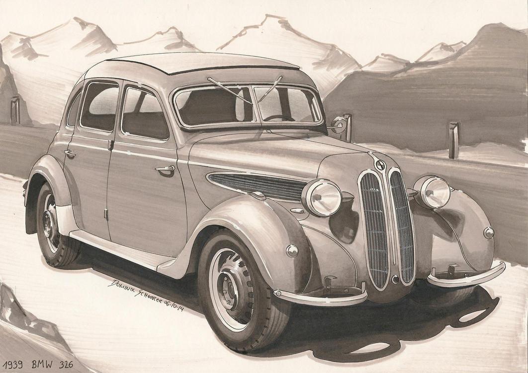 1939 BMW 326 by DominikScherrer