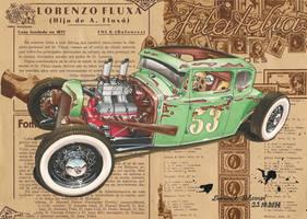 '30 Ford Five Window Rat Rod by DominikScherrer