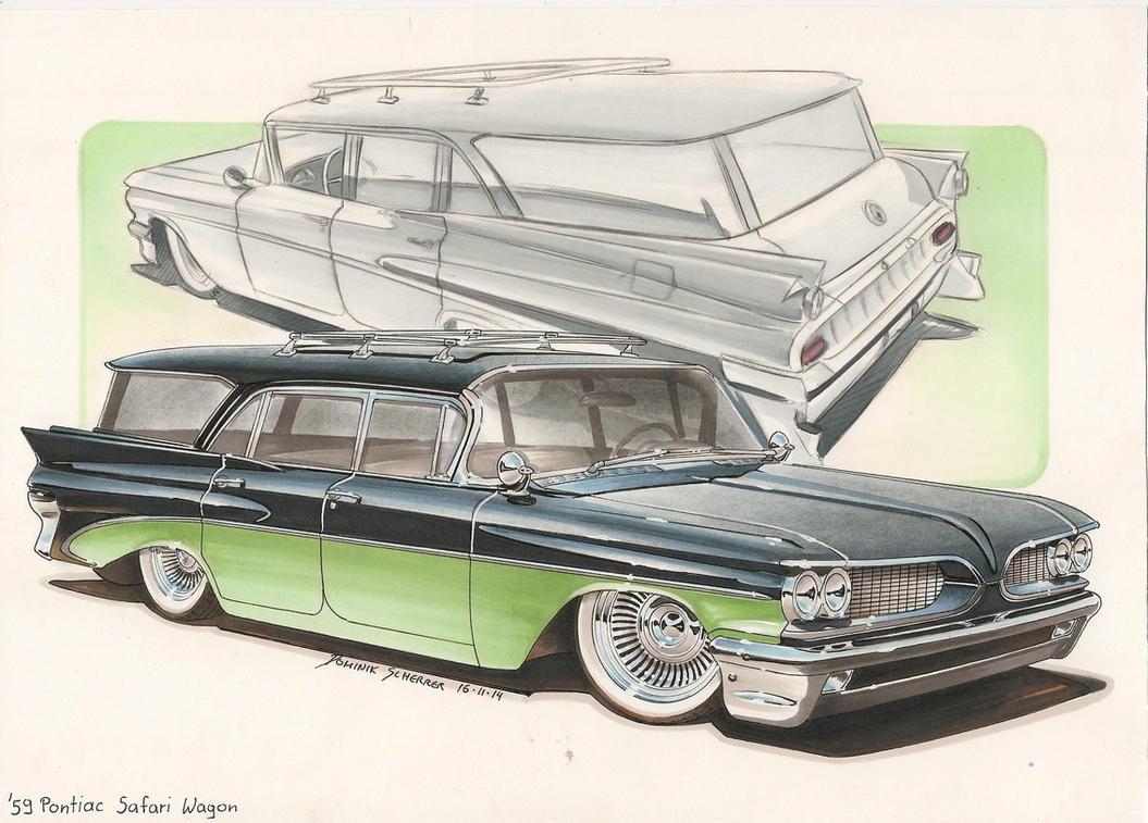'59 Pontiac Safari Wagon by DominikScherrer