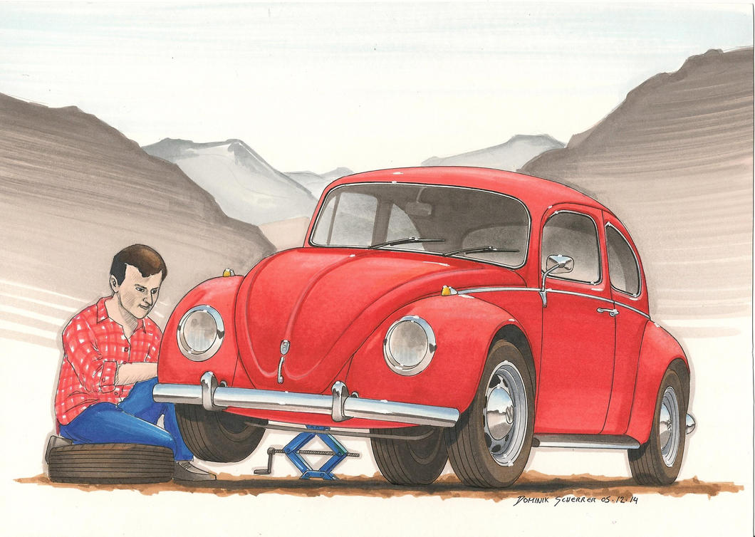 VW Kaefer by DominikScherrer