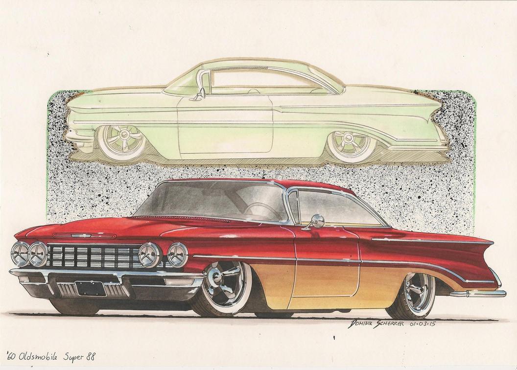 '60 Oldsmobile Super 88 by DominikScherrer