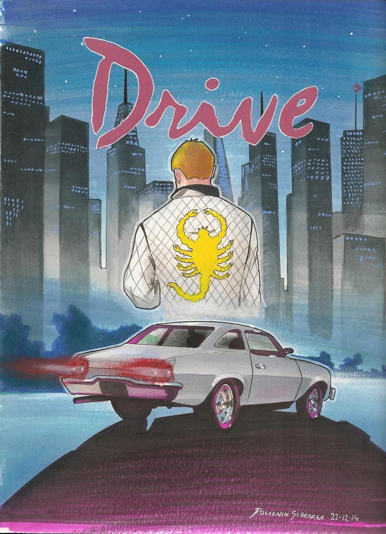 Drive Movie Poster by DominikScherrer