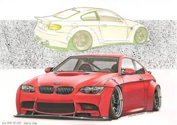 BMW M3 E92 Liberty Walk by DominikScherrer