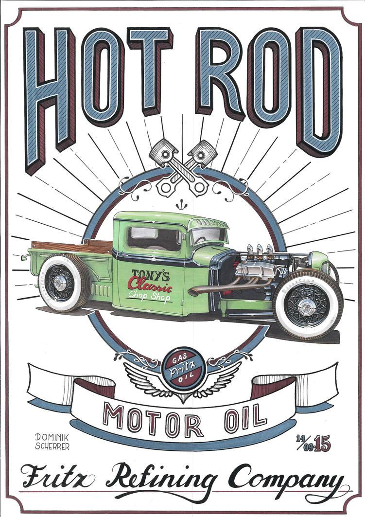 Vintage Hot Rod Signs 56