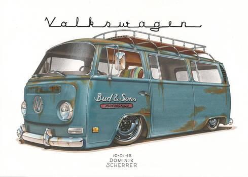 '69 VW Bus T2