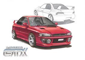 Subaru Impreza by DominikScherrer