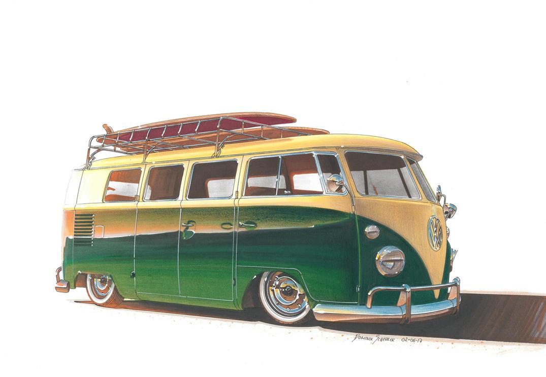 vw bus t1 by dominikscherrer on deviantart. Black Bedroom Furniture Sets. Home Design Ideas