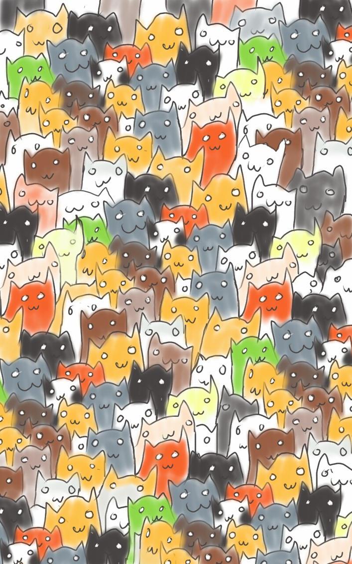 CATS! by MrCuddlefish