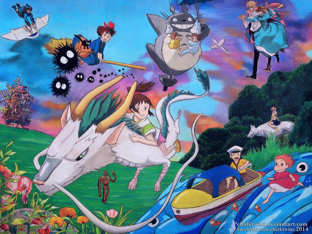 Tribute to Studio Ghibli
