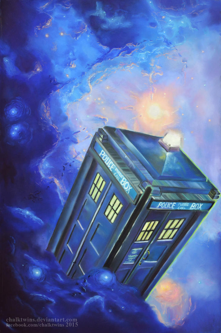 TARDIS by ChalkTwins