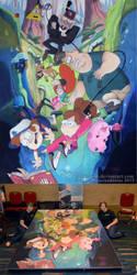 Gravity Falls by ChalkTwins