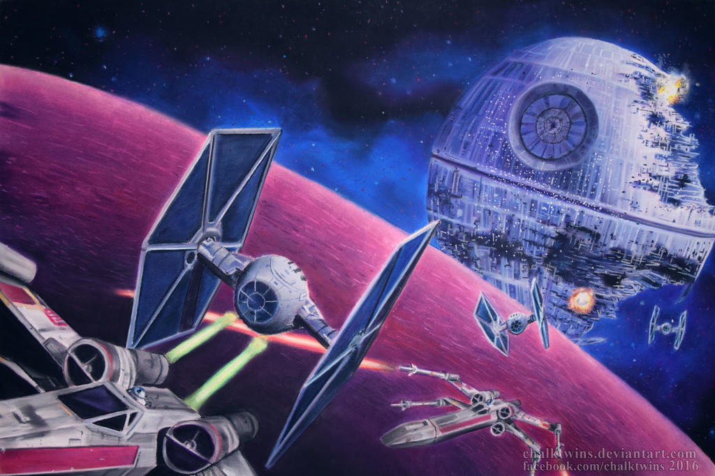The Death Star by ChalkTwins
