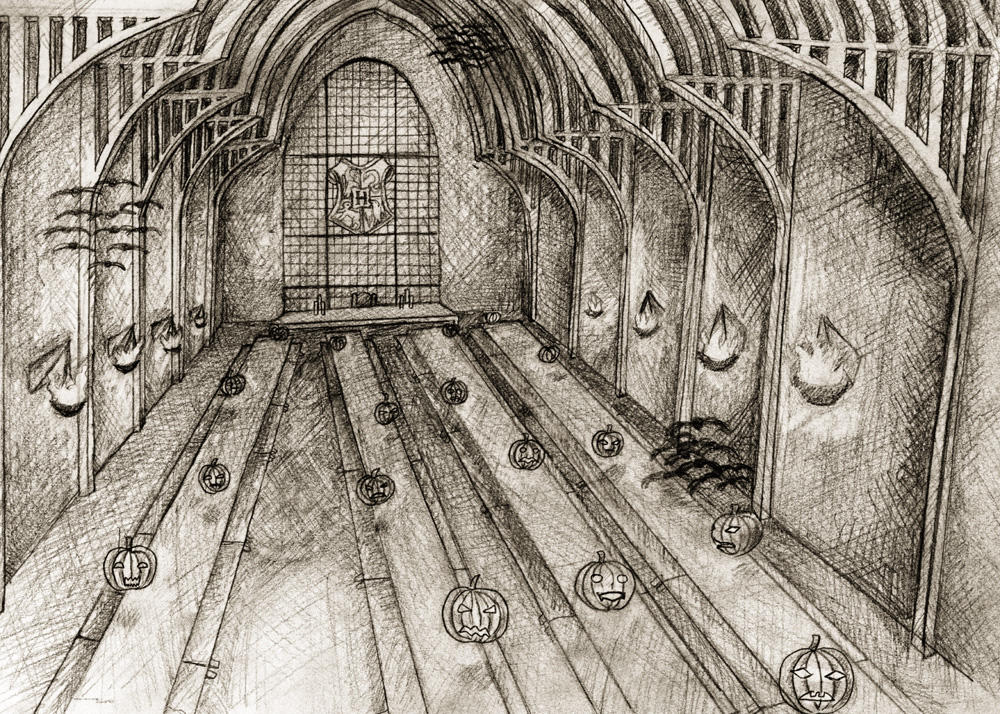 Hogwarts Great Hall By Shelty On Deviantart