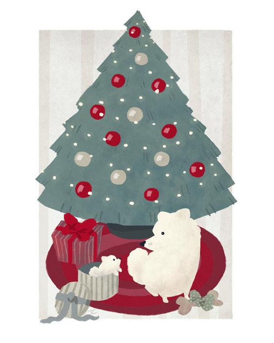 Puppy Christmas by Ceydran