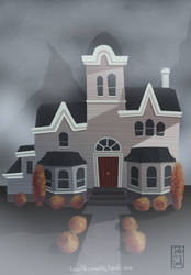 Creepy House by Ceydran