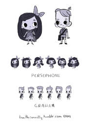 Persephone and Graham by Ceydran