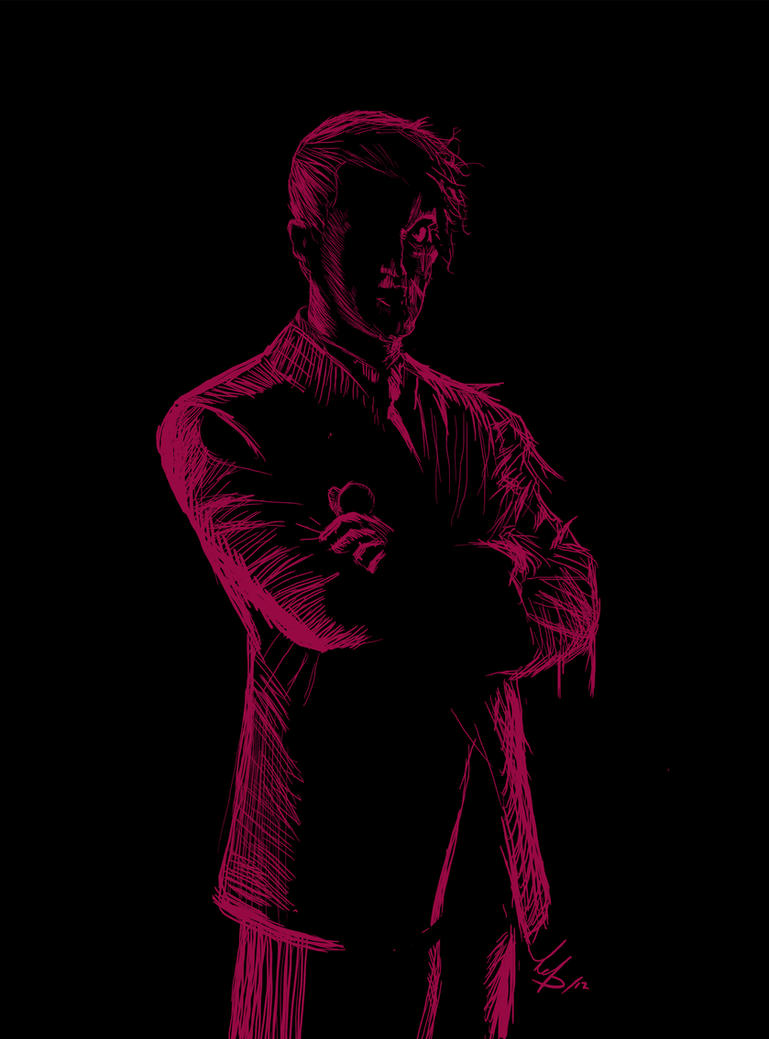 Harvey Dent - Twoface by redtrujillo