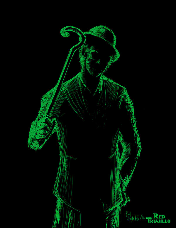 The Riddler by redtrujillo