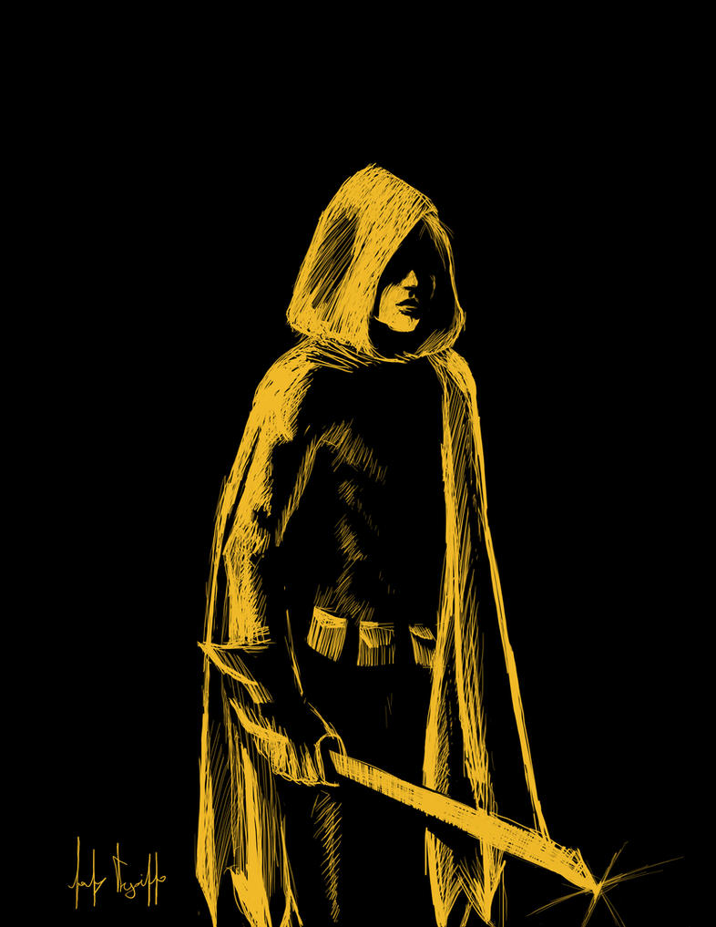 Damian Wayne - Robin by redtrujillo