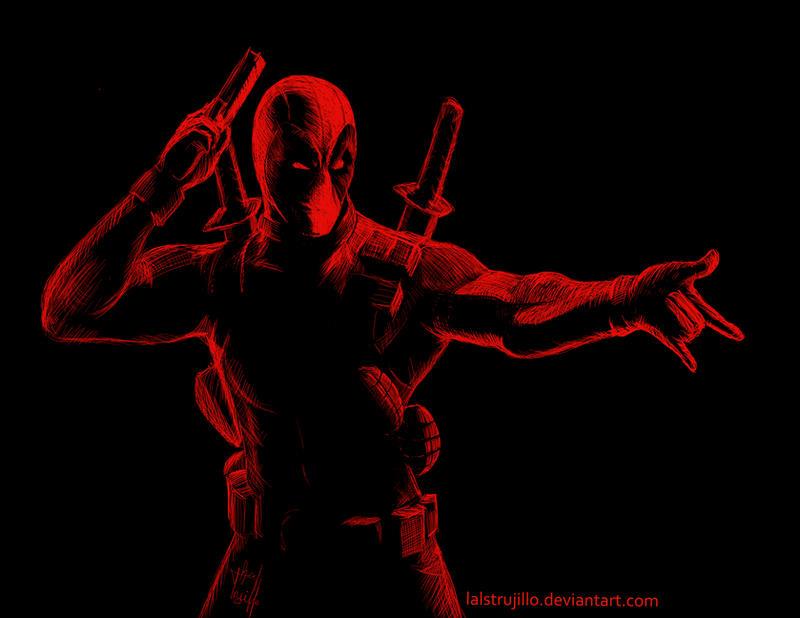 Deadpool by redtrujillo