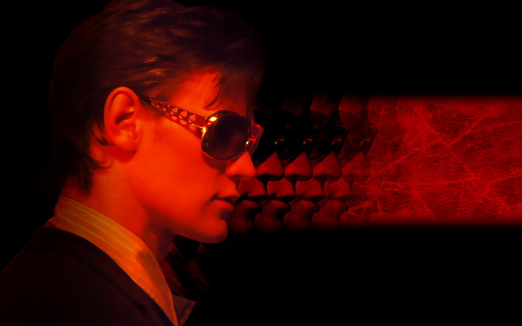 Eleventh Doctor retro wallpaper by Leda74
