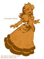 Dan Redraws Princess Daisy by dan-heron