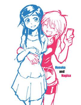 Precure Honoka Nagisa