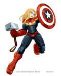 Commission Agent Hub Captain Marvel