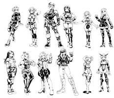 Xenoblade Doodles