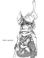 LoZ Saria BotW by dan-heron
