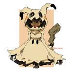 Pokemon Mimikyu Humanized