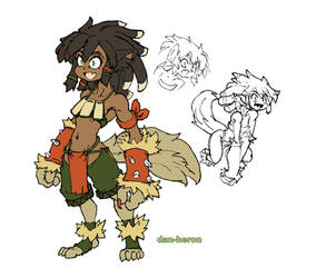 LoZ Wolfos girl