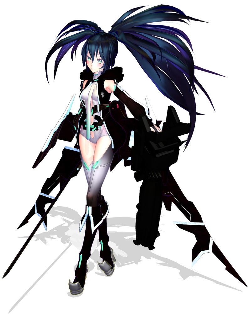 Black Rock Shooter Append by samiechan123