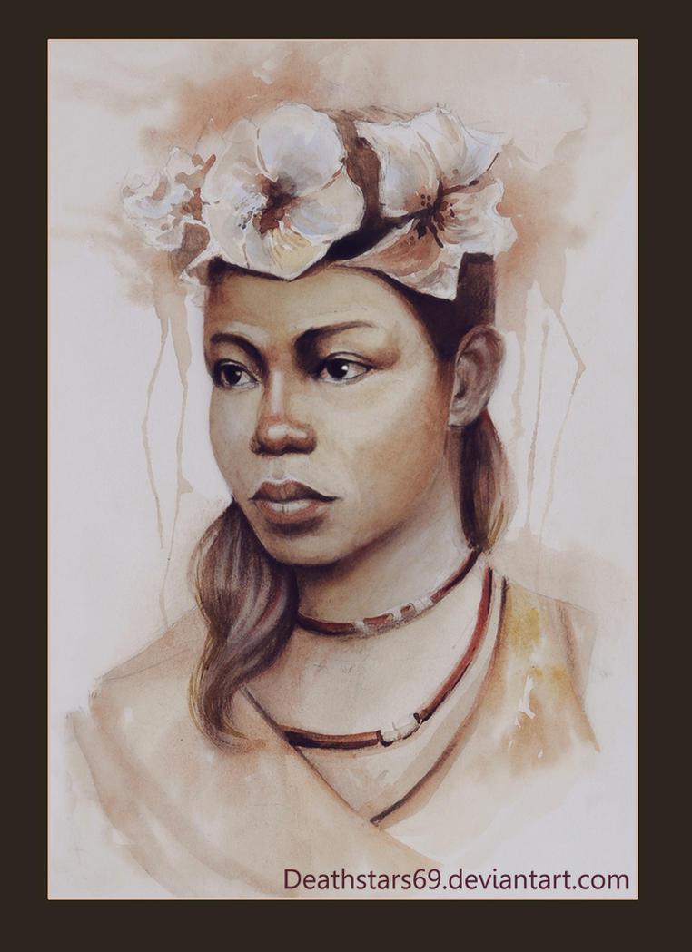 Woman portrait by Deathstars69