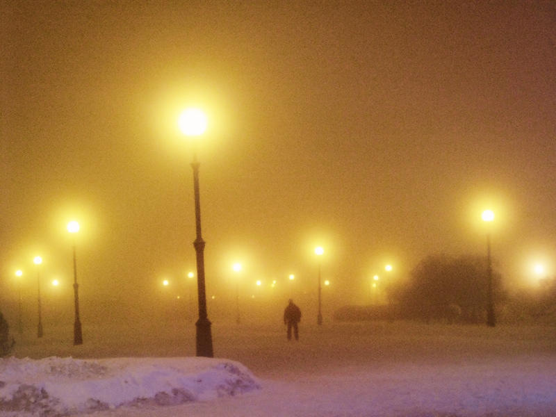 Golden wintry mist by rusrainbow
