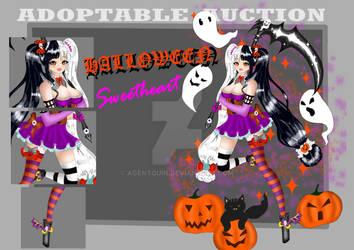 (OPEN) Adoptable Auction - Halloween Sweetheart