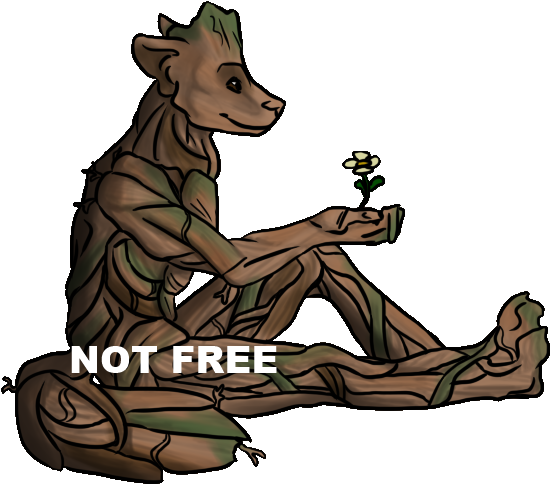 Groot Premade Colored by SterlingChainChomp
