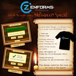 ZENFORMS Halloween Special