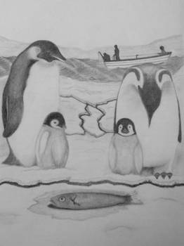 Penguins Need to Eat Too