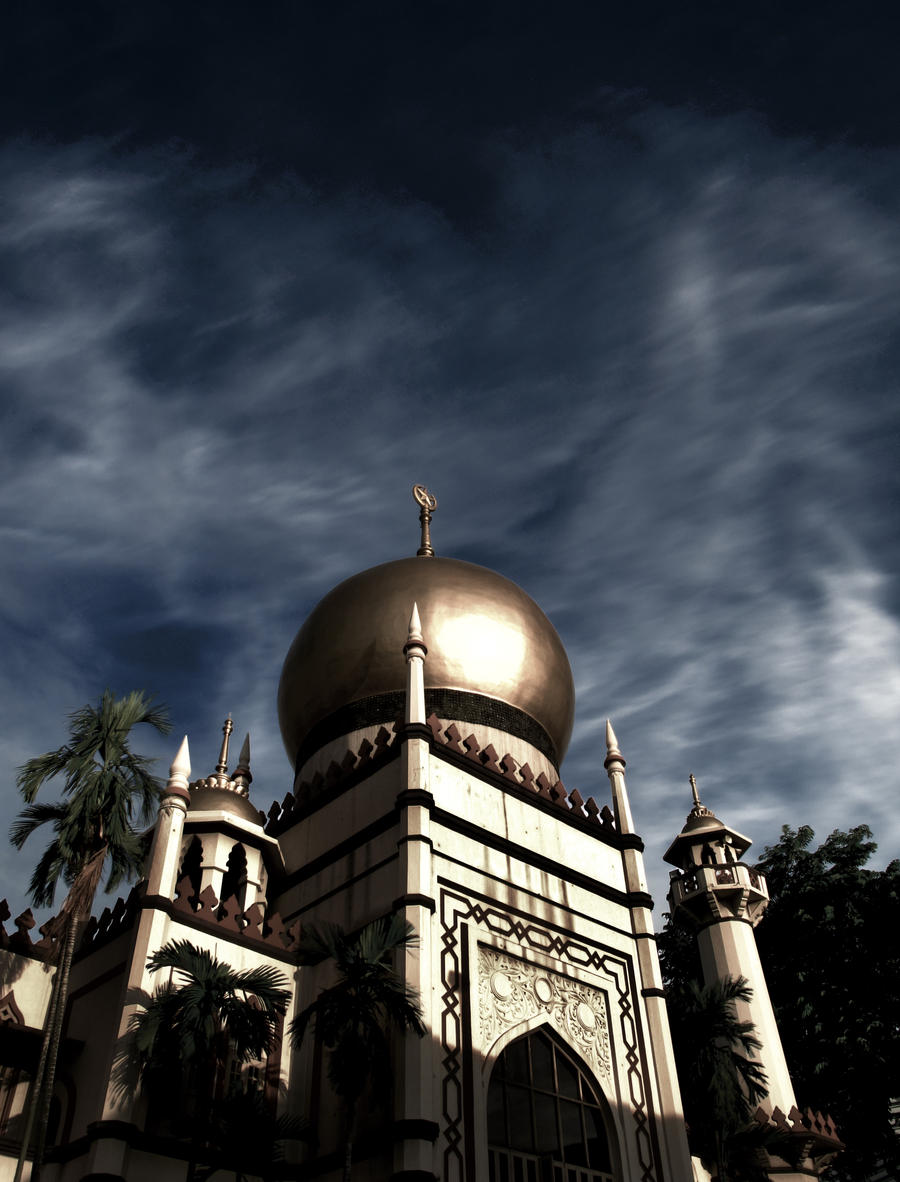 Mosque II by blackmariner