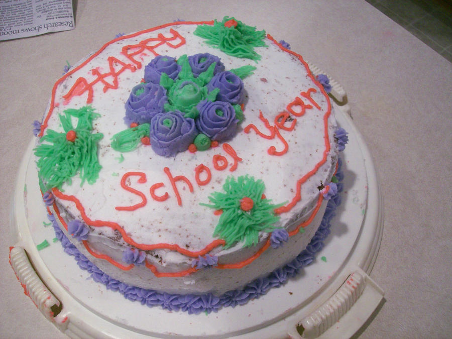 Cake Art Academy Kennesaw : School Cake by moosefan777 on DeviantArt