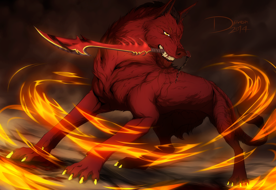 If this is to end in fire by Diivon