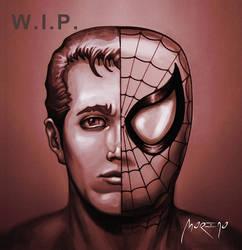 Parker Spiderman Wip by andresmoreno