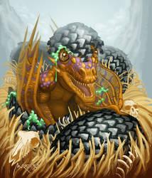 Dragon Born Asedio TCG by andresmoreno