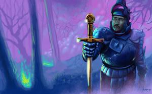 Uther Pendragon Excalibur