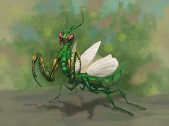 Mantis by andresmoreno