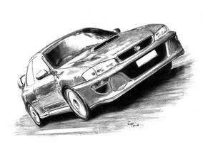 Subaru 22b STI by GParada