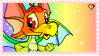 rainbow neopets stamp by tsunderre